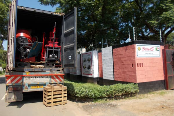 MACHINES EXPORTED TO TANZANIA